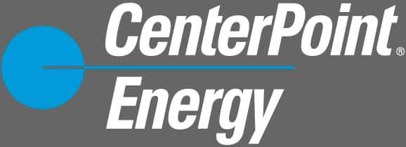 CenterPoint Energy on grey background